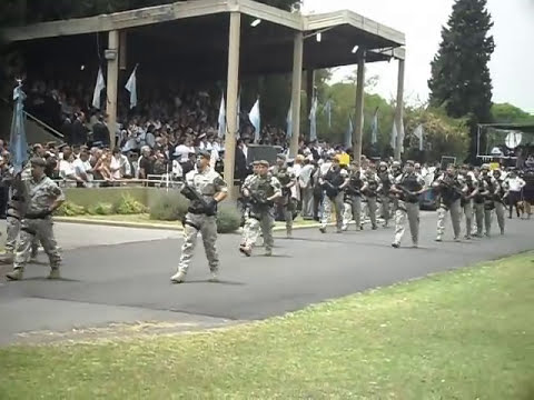 desfile policia  federal argentina 2010