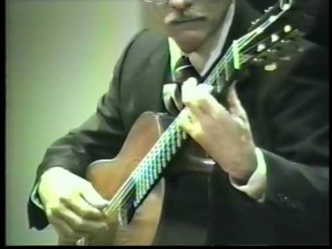 ELIAS BARREIRO PLAYS TARREGA'S TORRES GUITAR, 1989: MUSIC OF PONCE SCHERZINO MEXICANO & VALSE
