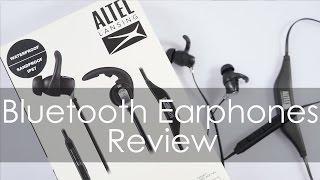 ALTEC Lansing Bluetooth Earphones MZW100 Review