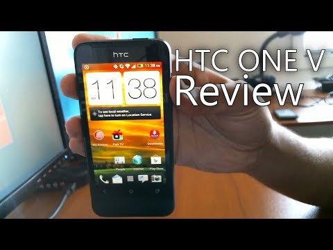 HTC One V Review Virgin Mobile