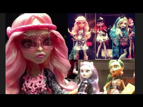 New Monster High Dolls! 2013-2014