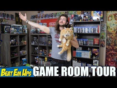 New HUGE Game Room Tour | USA EDITION!