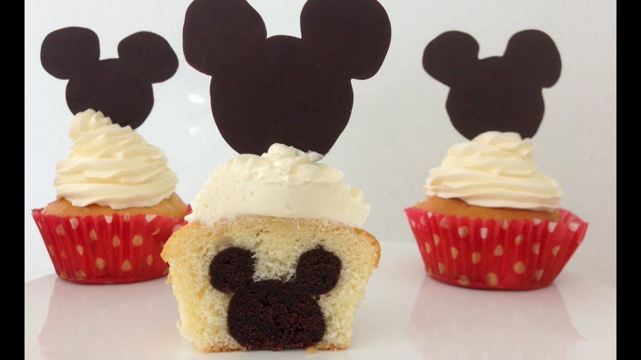 Cake With Mickey Mouse Inside