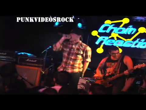 Polar Bear Club - Burned Out In A Jar (Live @ California, 2009)