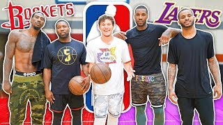 EPIC 1 vs 1 Basketball vs NBA Players