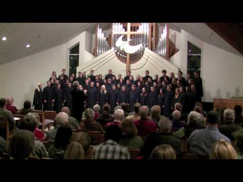 The Augustana  Choir, The Gift to be Simple - Chilcott.