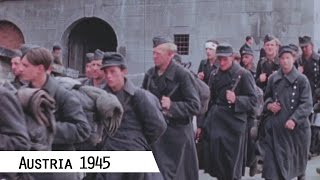 Austria in May 1945 in color and HD (Gramastetten and Linz)