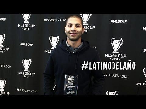 ESPAÑOL: Presentación de Álvaro Saborío Ganador de Latino Del Año 2013