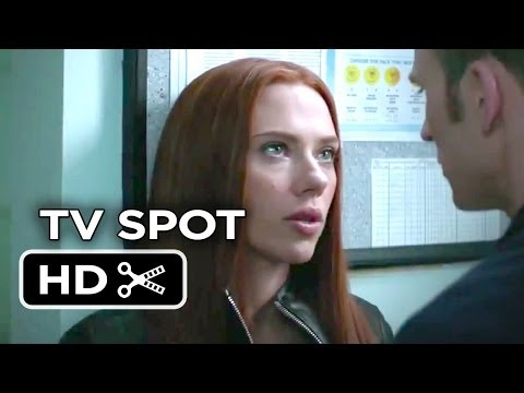 Captain America: The Winter Soldier TV SPOT 2 (2014) - Scarlett Johansson Movie HD