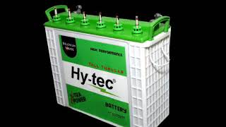 Maintenance free Automotive batteries from HY-TEC