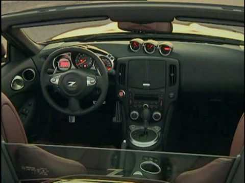 Officially video New Nissan 370Z Roadster 2010