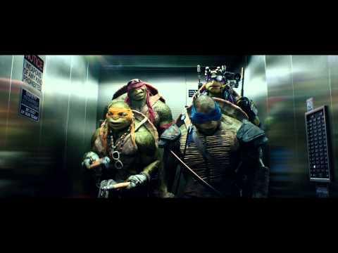 Tortugas Ninja - Clip de la película - Elevador