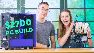 My First PC Build with Austin Evans !!!!