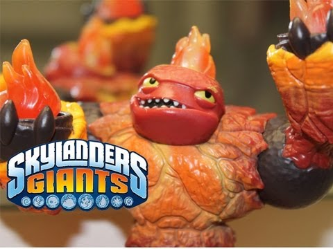 SKYLANDERS GIANTS - HOT HEAD SKYLANDER REVIEW
