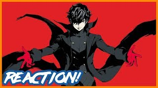 Super Smash Bros. Ultimate - Persona 5 Joker DLC Trailer (The Game Awards 2018) | Reaction