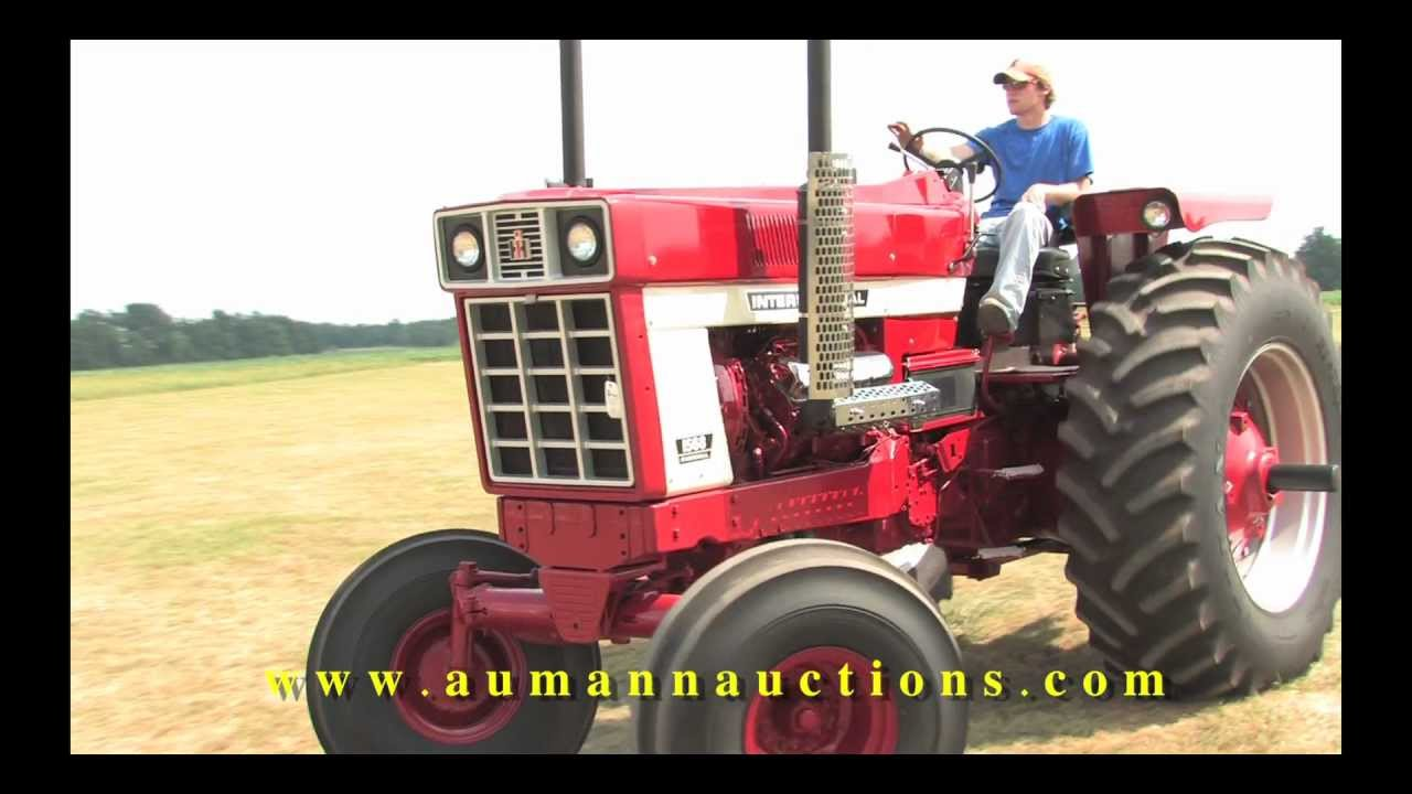 American Farmer Tires >> Farmall 1568 Row Crop - High Quality Late Model IH Collection Online Only Auction - YouTube