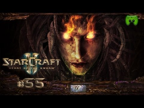 Let's Play Starcraft 2 Heart of the Swarm #055 [Deutsch][FULLHD] - Element TD