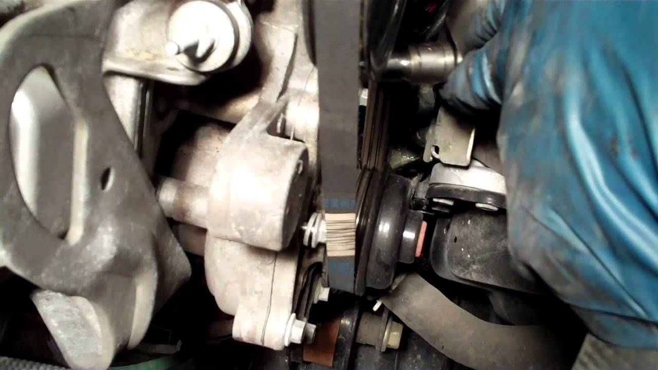 How To Replace The Water Pump On A 2006 Mazda Mvp Youtube