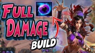 Smite: The Morrigan FULL DAMAGE Build - New DOOM ORB is BROKEN!