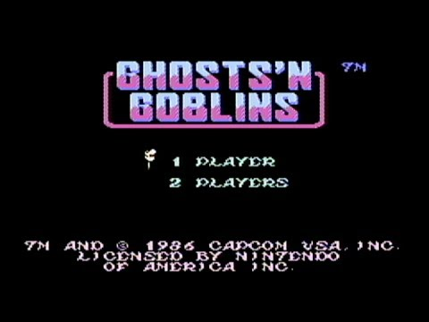 Ghosts 'n Goblins - NES Gameplay