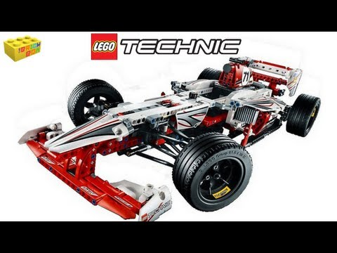 Lego Technic Grand Prix Racer Review 42000
