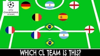 Which CHAMPIONS LEAGUE Team is This?(Part 1) | Football Quiz