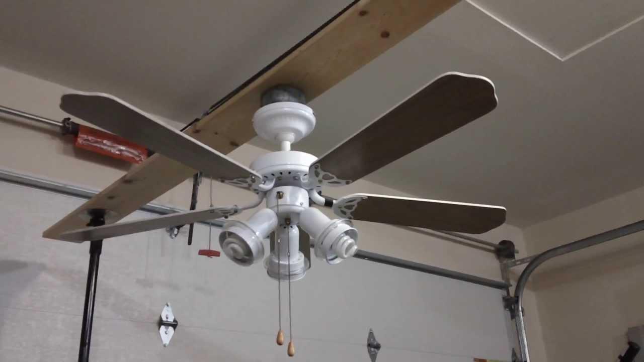 42 Hampton Bay Florentine Ceiling Fan