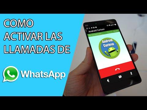 Como Activar Las LLamadas de Voz en WHATSAPP para Android