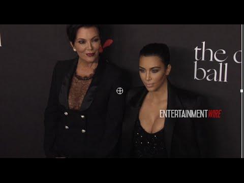 Kim Kardashian, Kris Jenner arrive at Rihanna's 1st Annual Diamond Ball Redcarpet Benefit