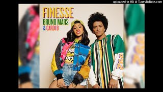 Download Lagu Bruno Mars - Finesse (Remix) [feat. Cardi B] (Clean) Gratis STAFABAND