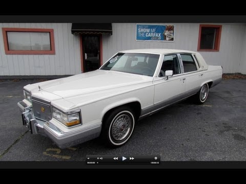 1991 Cadillac Brougham 5.7L w/ 28k Miles Start Up. Exhaust. and In Depth Review
