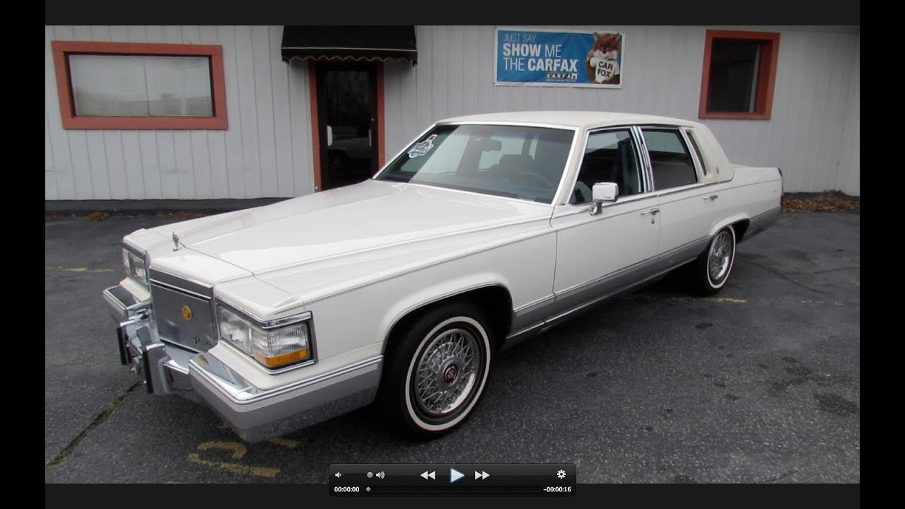 1991 cadillac brougham 5 7l w 28k miles start up exhaust