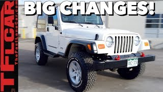 We TRANSFORMED our Jeep Wrangler, and BLEW the Budget: Cheap Jeep Challenge Ep.5
