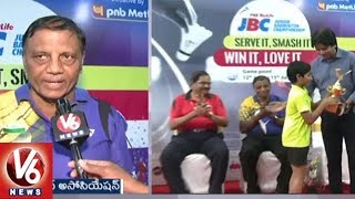 Junior Badminton Championship Ends Grandly | Badminton President Paani Rao Distributes Prizes
