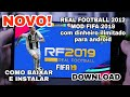 Saiu Real Football 2012 Mod FIFA 2019 Dinheiro Infinito Para Android OFFLINE mp3