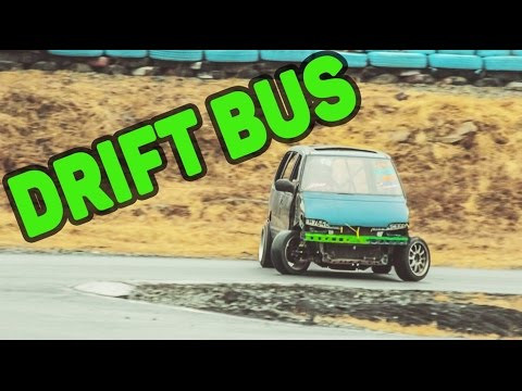Дрифт на микро автобусах и минивэнах (Drift bus & SUPER VAN) - [DriftCrashCar]