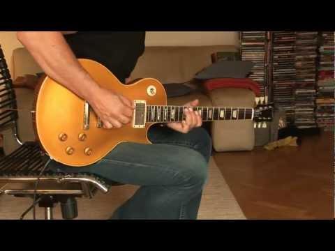 2012 Gibson Les Paul Custom Shop Lee Roy Parnell Signature 1957 Reissue Goldtop Part2
