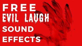 FREE EVIL LAUGH SOUND -|- Download in Description