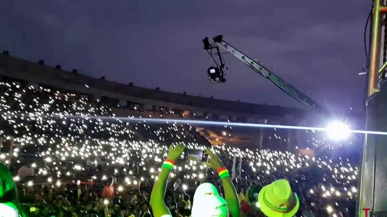 Teddy Afro at Bahirdar Stadium ,  - ለቴዲ አፍሮ በባህርዳር ስታዲየም የህዝቡ ልዩ እና አስደናቂ አቀባበል
