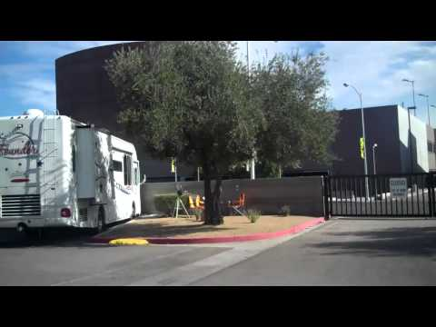 Main Street Station  RV Park Drive Through Las Vegas NV