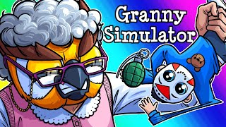 Granny Simulator Funny Moments - Todlerious Takes on Granoss!