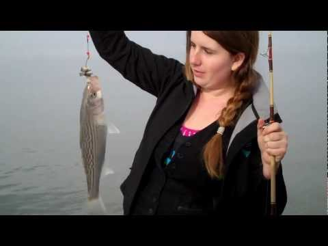 THREE GIRLS FISHING