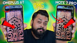 Can Redmi Note 7 Pro Camera Beat OnePlus 6T Camera...? We Find Out!