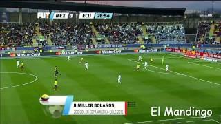 Frases Divertidas De Christian Martinoli Y Luis Garcia Mexico VS Ecuador - C. America