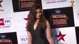 Alia Bhatt Says 'FUCK' at Big Star Entertainment Awards 2014
