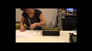 How to make a custom clamshell box