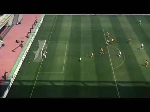 PES 2010 Goal keeping