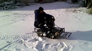 Снегоходы палочники своими руками 305