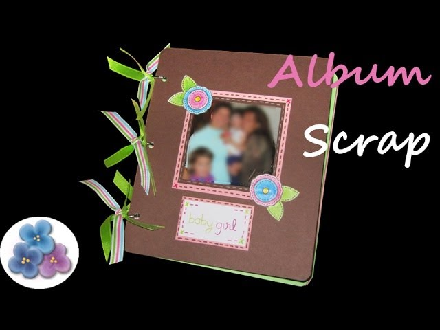 Mini Album Scrapbook *Baby Album* Album Scrapbooking Scrap Pintura Facil Para Ti