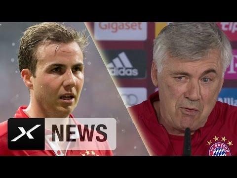 Mario Götze zurück zum BVB? Das sagt Carlo Ancelotti | FC Bayern München | Borussia Dortmund